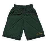 Performance Classic Dark Green 9 Inch Short-Greek Letters