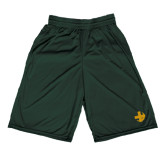 Performance Classic Dark Green 9 Inch Short-Crescent