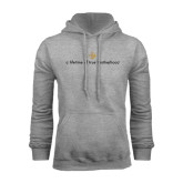 Grey Fleece Hoodie-Lifetime of True Brotherhood