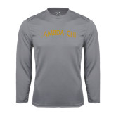 Syntrel Performance Steel Longsleeve Shirt-Lambda Chi Arch