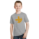 Youth Grey T-Shirt-Crescent