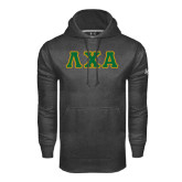 Under Armour Carbon Performance Sweats Team Hoodie-Greek Letters Bold
