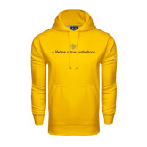 Under Armour Gold Performance Sweats Team Hoodie-Lifetime of True Brotherhood