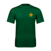 Performance Dark Green Tee-Crescent