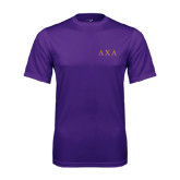 Syntrel Performance Purple Tee-Greek Letters