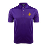 Purple Dry Mesh Polo-Crescent