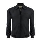 Black Players Jacket-Greek Letters Tone