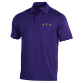 Under Armour Purple Performance Polo-Greek Letters