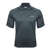 Charcoal Dri Mesh Pro Polo-Greek Letters