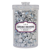 Kissable Creations Large Round Canister-Greek Letters