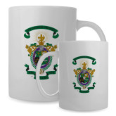 Full Color White Mug 15oz-Coat of Arms