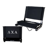 Stadium Chair Black-Greek Letters