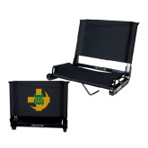 Stadium Chair Black-Crescent Friendship Pin