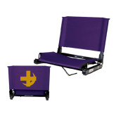 Stadium Chair Purple-Crescent
