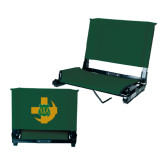 Stadium Chair Dark Green-Crescent Friendship Pin