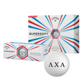 Callaway Supersoft Golf Balls 12/pkg-Greek Letters