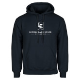 Navy Fleece Hoodie-Primary Mark