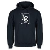 Navy Fleece Hoodie-LC