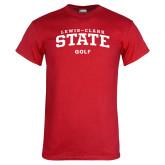 Red T Shirt-Golf