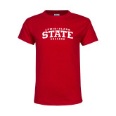Youth Red T Shirt-Lewis-Clark State College
