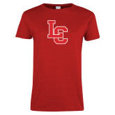 Ladies Red T Shirt-LC