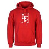 Red Fleece Hoodie-LC