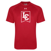 Under Armour Red Tech Tee-LC