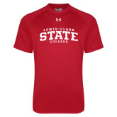 Under Armour Red Tech Tee-Lewis-Clark State College