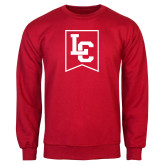 Red Fleece Crew-LC