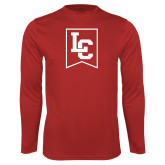 Performance Red Longsleeve Shirt-LC