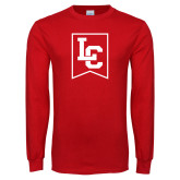 Red Long Sleeve T Shirt-LC