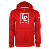 Under Armour Red Performance Sweats Team Hoodie-LC