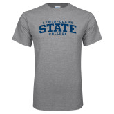Grey T Shirt-Lewis-Clark State College