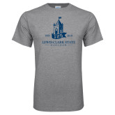 Grey T Shirt-125 Years Lewis-Clark State College