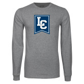 Grey Long Sleeve T Shirt-LC