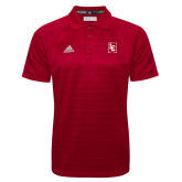 Adidas Climalite Red Jacquard Select Polo-LC