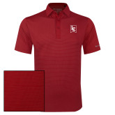 Columbia Red Omni Wick Sunday Golf Polo-LC