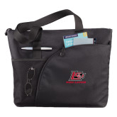 Excel Black Sport Utility Tote-Red Lions Logo