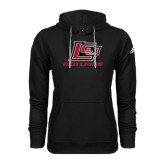 Adidas Climawarm Black Team Issue Hoodie-Red Lions Logo