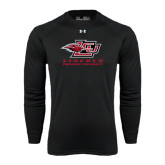 Under Armour Black Long Sleeve Tech Tee-Combination Mark