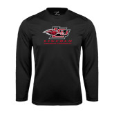 Performance Black Longsleeve Shirt-Combination Mark