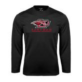Syntrel Performance Black Longsleeve Shirt-Combination Mark