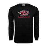 Black Long Sleeve TShirt-Combination Mark