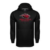 Under Armour Black Performance Sweats Team Hood-Baseball