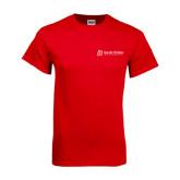 Red T Shirt-University Logo - Flat