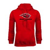 Red Fleece Hood-Dad