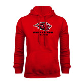 Red Fleece Hoodie-Alumni