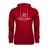 Adidas Climawarm Red Team Issue Hoodie-University Logo