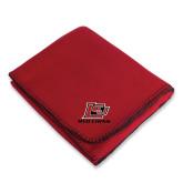 Red Arctic Fleece Blanket-Red Lions Logo
