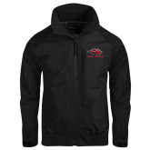 Black Charger Jacket-Red Lions Stacked